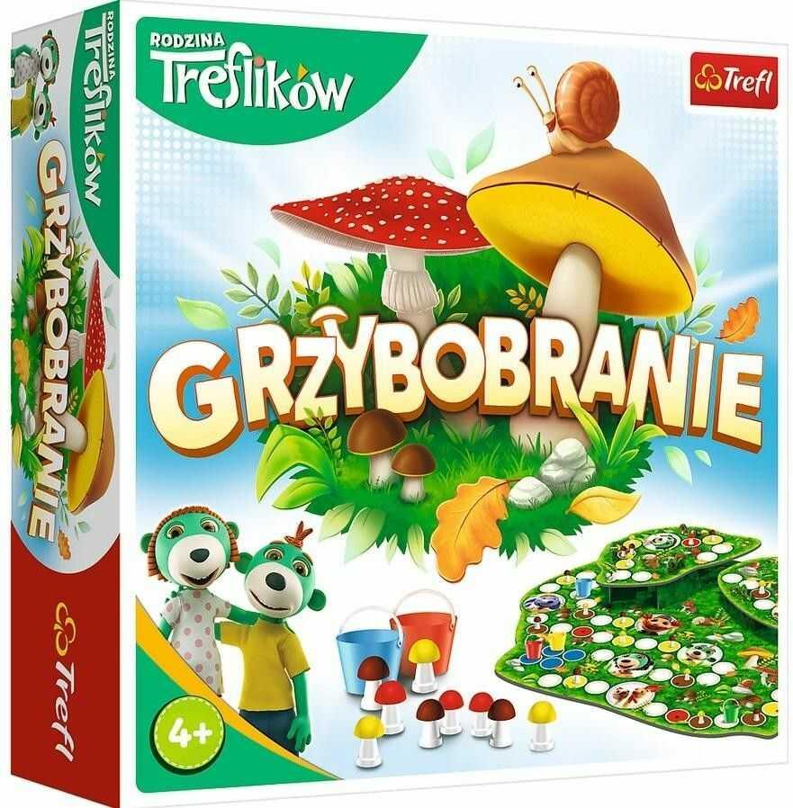 Gra Grzybobranie Rodzina Treflików PUD TREFL