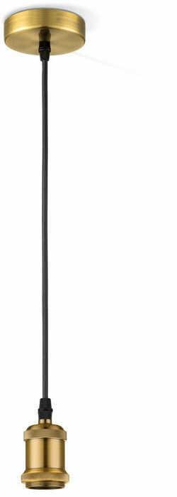 Globo OLIVER A33 lampa wisząca mosiądz 1xE27 10cm