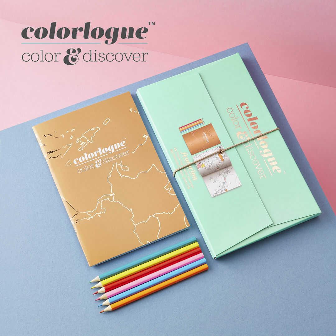 Kolorowanka z mapami