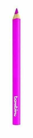 Kredka Bambino w drewnianej oprawie gruba trójkątna 5003721 5003653, Kolor: Różowy