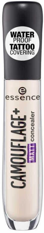 Essence - CAMOUFLAGE+ Matt Concealer - Wodoodporny korektor w płynie - 10 - LIGHT ROSE