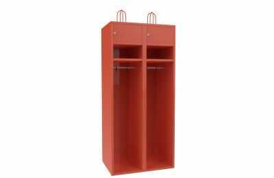 Metalowa szafa strażacka dla remiz Sus 42 - 80 cm skrytek 2