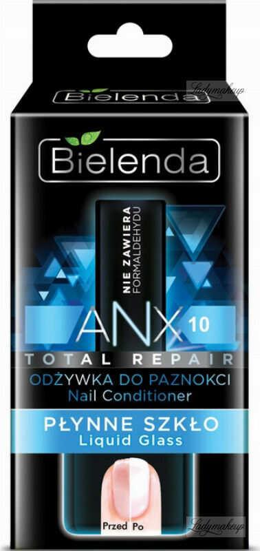 Bielenda - ANX Total Repair - Nail Conditioner - Liquid Glass - Odżywka do paznokci - Płynne szkło - 11 ml