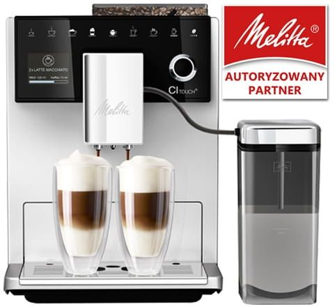 Ekspres do kawy Melitta CI Touch - Srebrny + Kod rabatowy