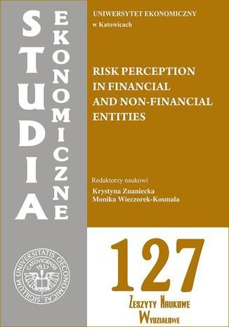 Risk perception in financial and non-financial entities. SE 127 - Ebook.