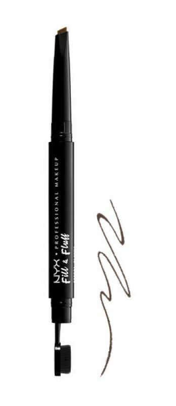 NYX Professional Makeup - Fill & Fluff Eyebrow Pomade Pencil - Pomada w kredce do wypełniania brwi - ESPRESSO