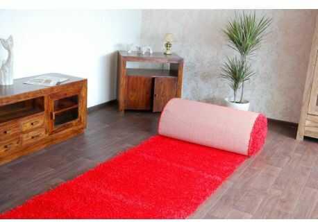 Wykładzina dywanowa SHAGGY 5cm czerwony