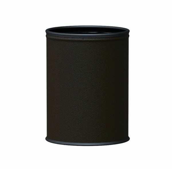 Kosz na śmieci ROOM BASKET 9l brązowa eko skóra