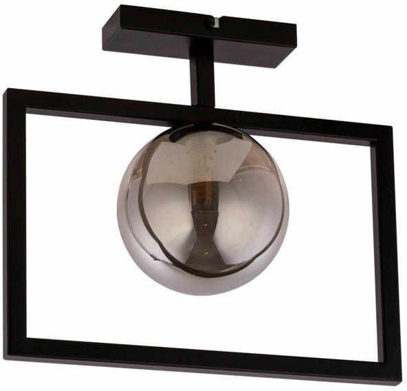 Lampa sufitowa ramka COSMIC 1 PLAFON czarny/szary 32131