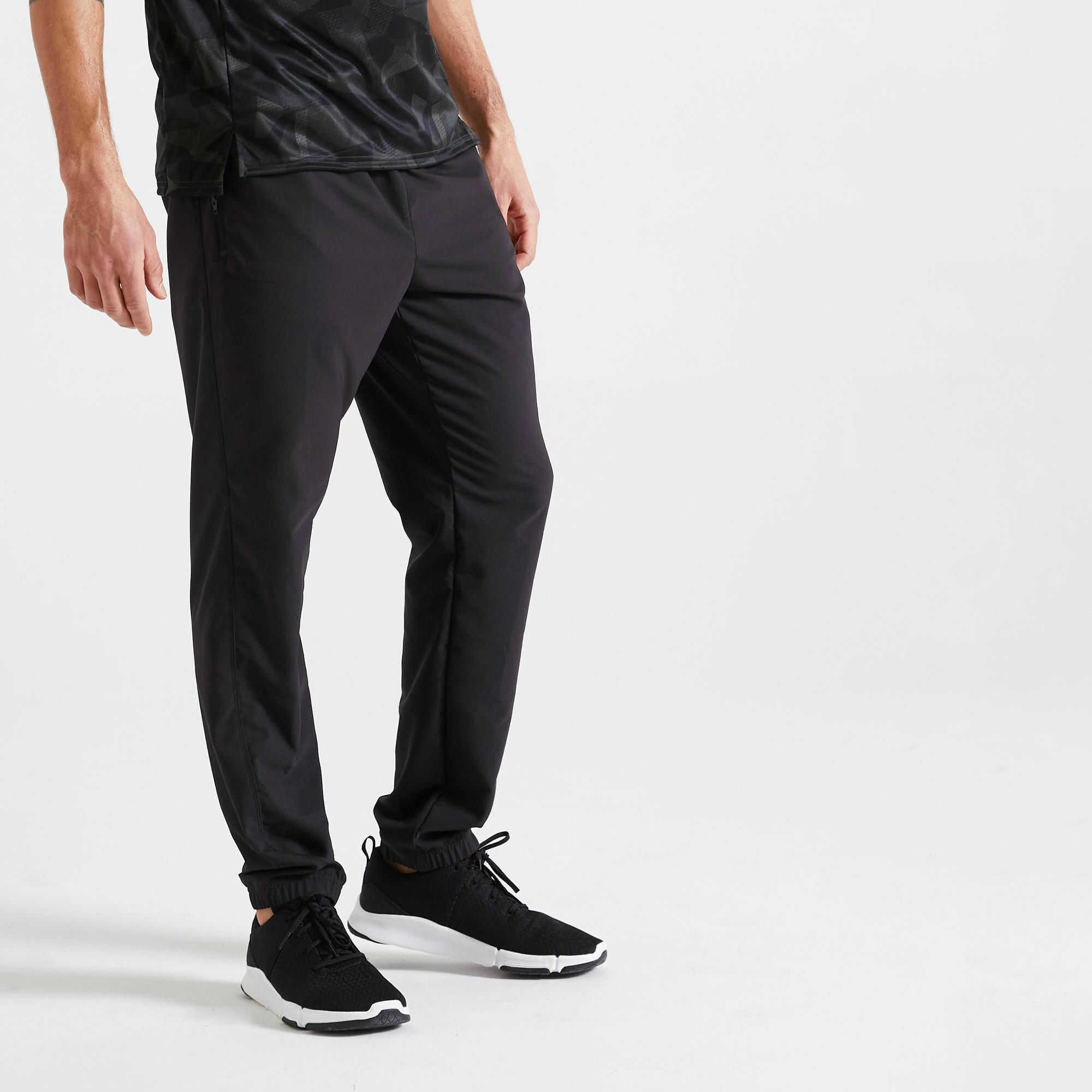 Spodnie fitness męskie Domyos 120