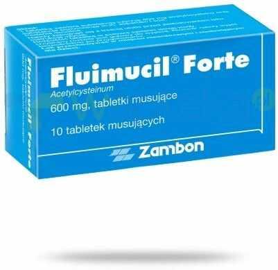 Fluimucil Forte (Fluimucil) 600mg 10 tabletek musujących