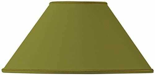 Klosz lampy w kształcie retro, Ø 35 x 11 x 20,5 cm, zielony/brąz