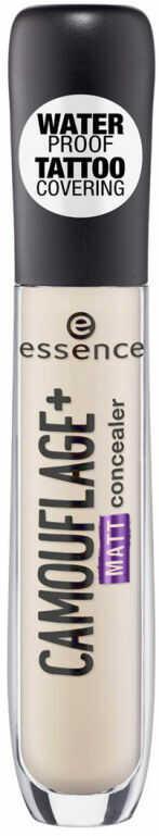 Essence - CAMOUFLAGE+ Matt Concealer - Wodoodporny korektor w płynie - 20 - LIGHT IVORY