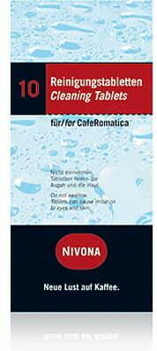 Tabletki czyszczące NIVONA NIRF 701 10 szt.