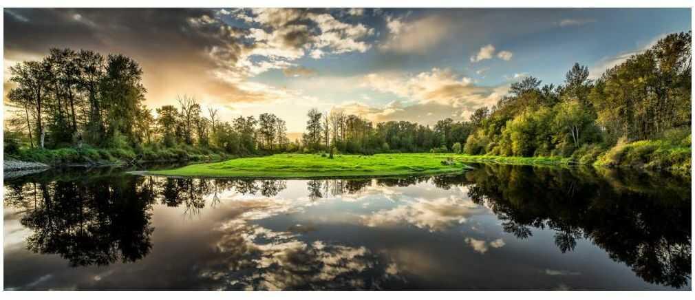 Obraz na szkle Nature 125 x 50 cm