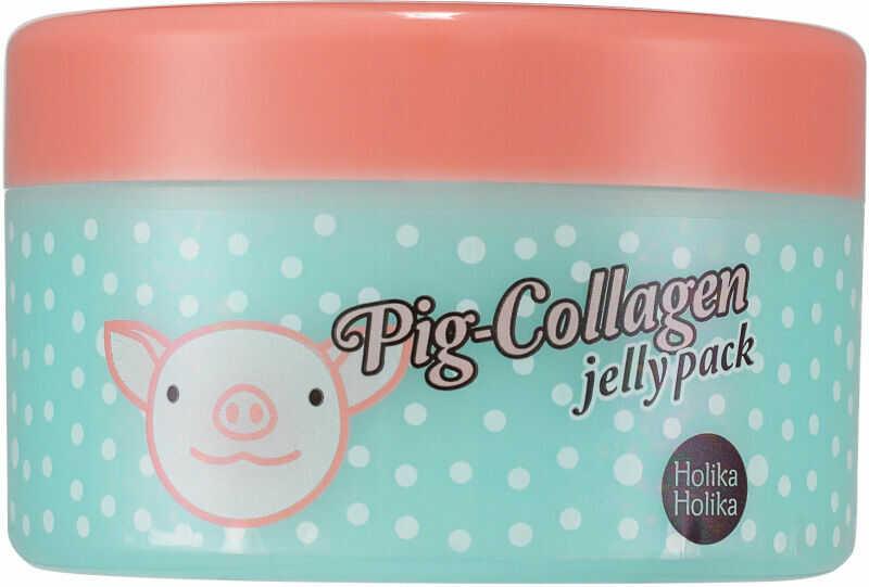 Holika Holika - Pig Collagen Jelly Pack - Kolagenowa maska do twarzy na noc - 80g