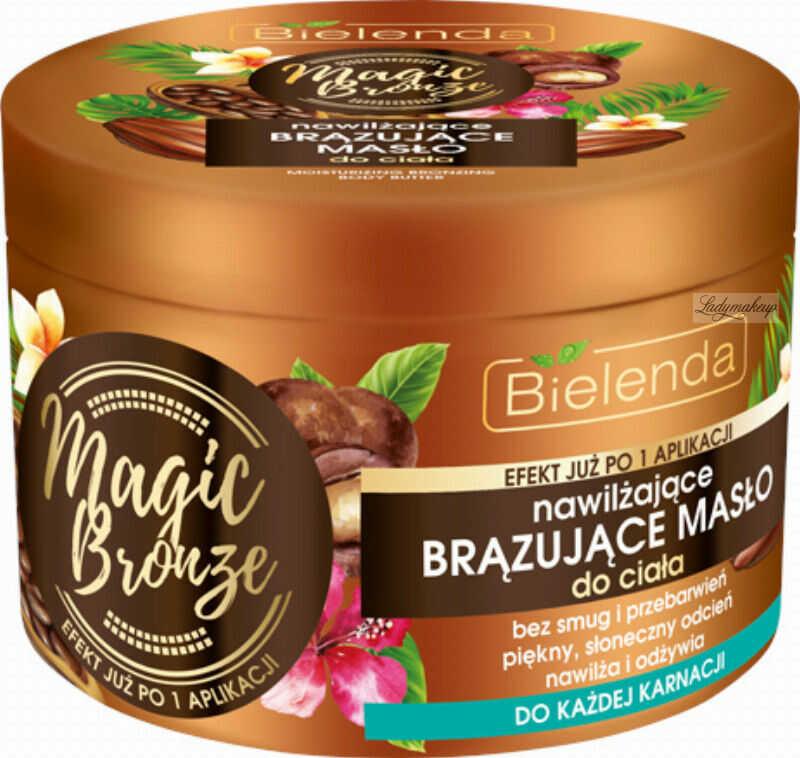 Bielenda - MAGIC BRONZE - Moisturizing Bronzing Body Butter - Nawilżające brązujące masło do ciała - 200 ml