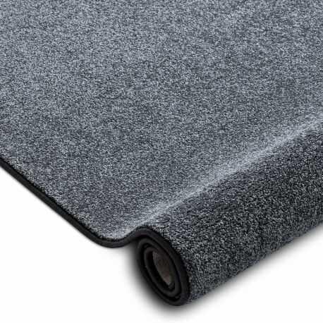 Wykładzina dywanowa SAN MIGUEL szary 97 gładki, jednolity, jednokolorowy