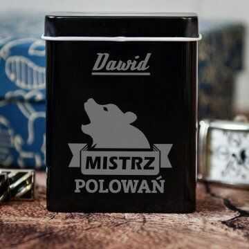 Mistrz polowań - etui na papierosy z grawerem
