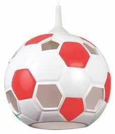 Lampa wisząca Piłka czerwona