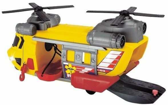 Dickie Action Series Helikopter ratunkowy światło i dźwięk 3306004