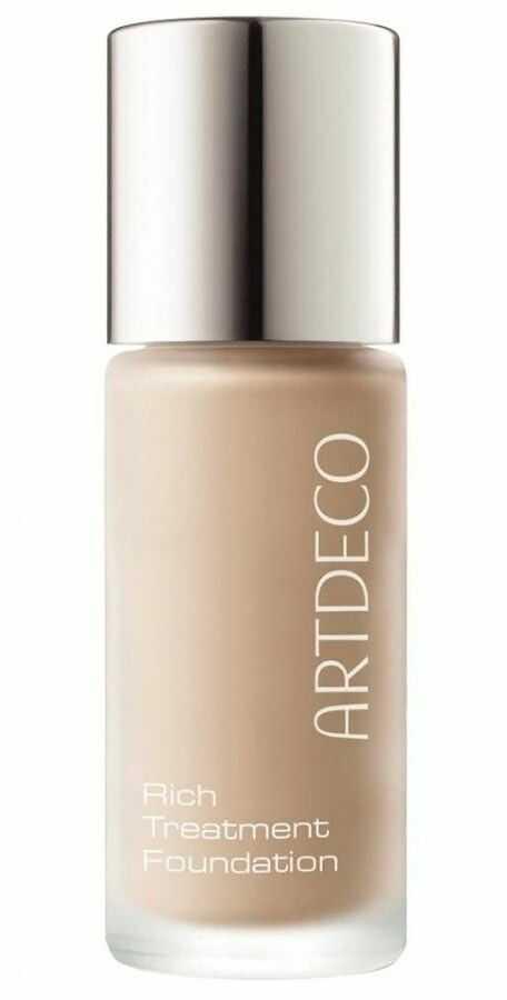 Artdeco Rich Treatment Foundation rozświetlający, kremowy podkład odcień 485.10 Sunny Shell 20 ml + do każdego zamówienia upominek.
