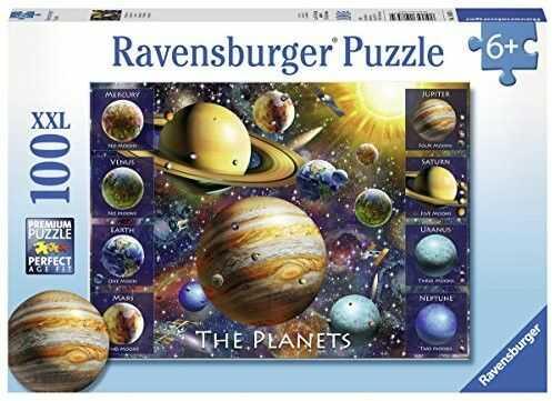 Ravensburger - Puzzle Planety 100 elem. 108534