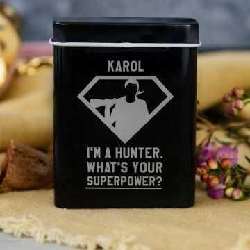 Superpower - etui na papierosy z grawerem