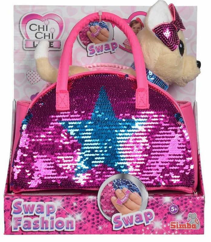 Simba Chi Chi Love - Cekinowa Gwiazda Piesek w torebce 5893351