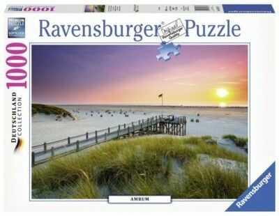 Ravensburger - Puzzle Zachód słońca 1000 elem. 198771