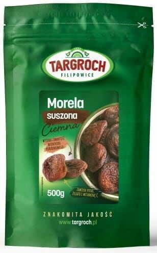 Morela Suszona Naturalnie Ciemna 500g - Targroch
