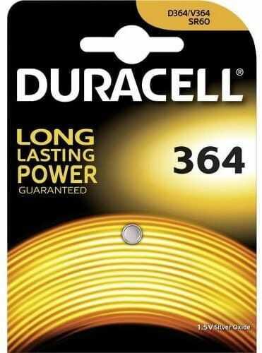 bateria srebrowa mini Duracell 364-363 / G1 / SR621SW