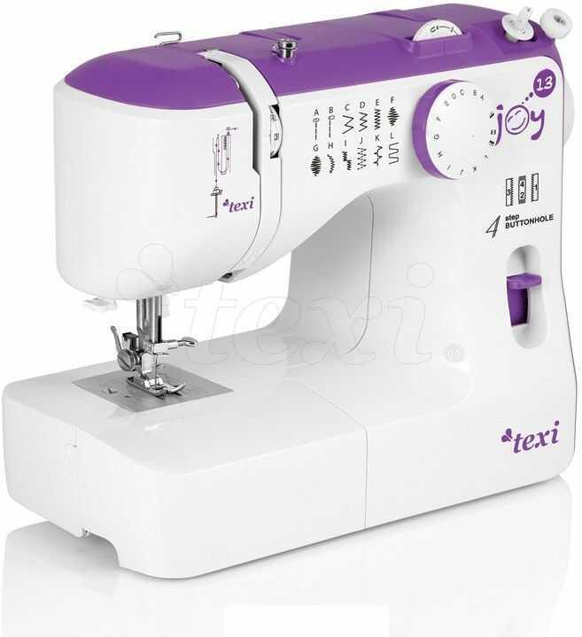 Maszyna do szycia dla dzieci Texi Joy 13 Purple - 13 ściegów + RABAT dla zalogowanych