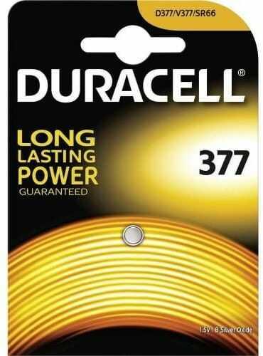 bateria srebrowa mini Duracell 377- G4 / SR626SW