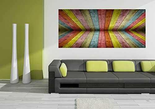 AG Design FTG 0945 drewniana deska, tapeta papierowa - 202 x 90 cm - 1 część, papier, wielokolorowa, 0,1 x 202 x 90 cm