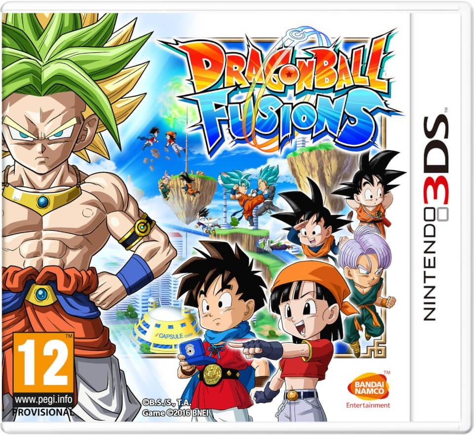 Gra Dragon Ball: Fusions (Nintendo 3DS)