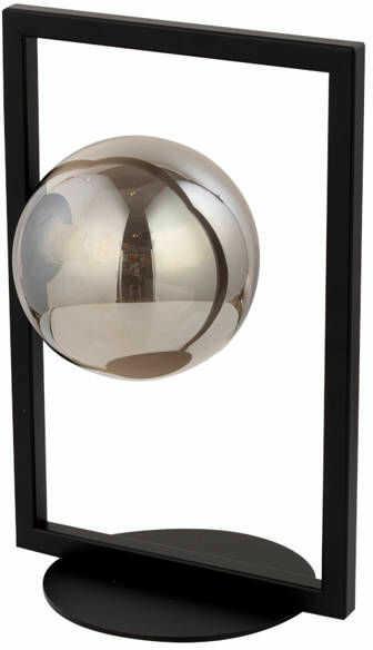 Lampa biurkowa stołowa nocna ramka COSMIC LAMPKA czarny/szary 50231
