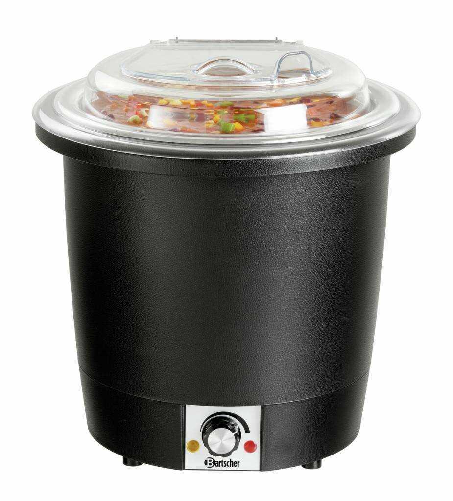 Bartscher Kociołek na zupę 10L 450W 230V 330x330x(H)380mm - kod 100048