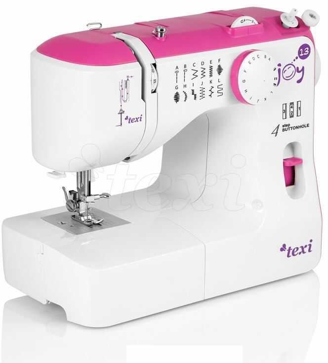 Maszyna do szycia dla dzieci Texi Joy 13 Pink - 13 ściegów + RABAT dla zalogowanych