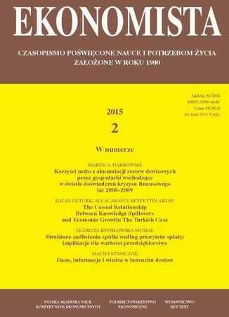 Ekonomista 2015 nr 2 - Ebook.