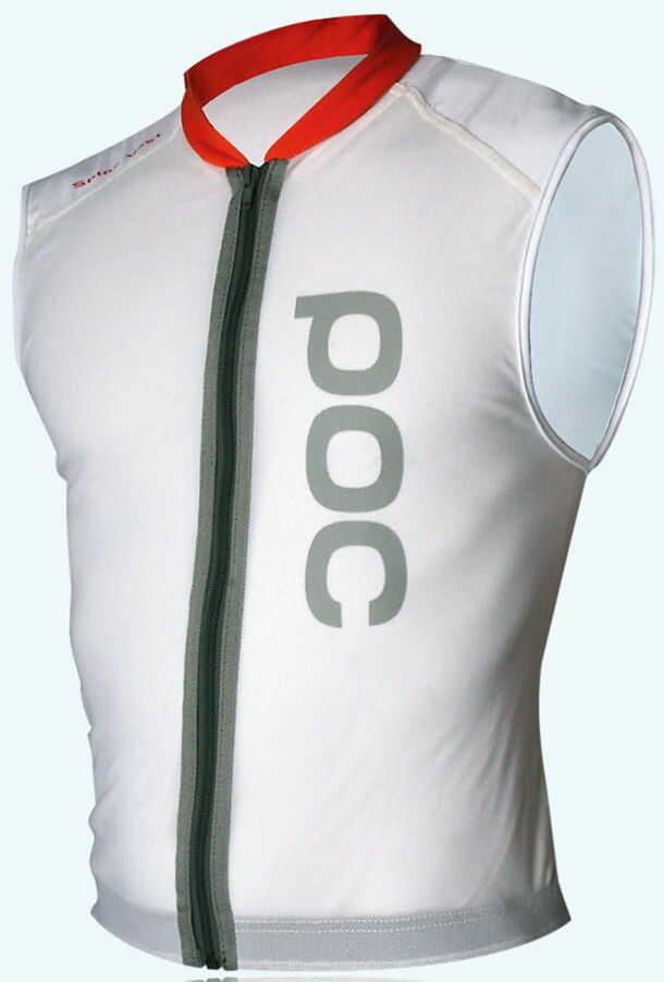 POC SPINE VPD VEST white ochrona snowboard - XXS r