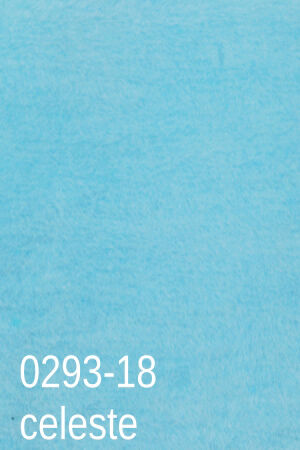 Koc bawełniano-akrylowy 150x200 wz 0293/18 błękitny jednobarwny