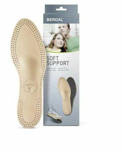 Wkładki do Butów Bergal SOFT SUPPORT korekcyjne