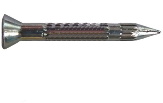 Gwoździe do betonu hartowane-ryflowane 2000 sztuk - 40mm (8x250 szt)