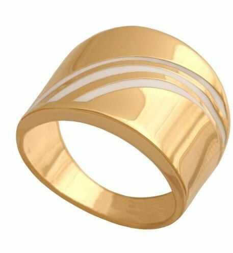 Złoty pierścionek nowoczesny Pn193