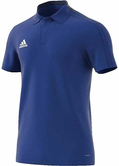 adidas Con18 Co koszulka polo męska niebieski Bold Blue/Dark Blue/White M