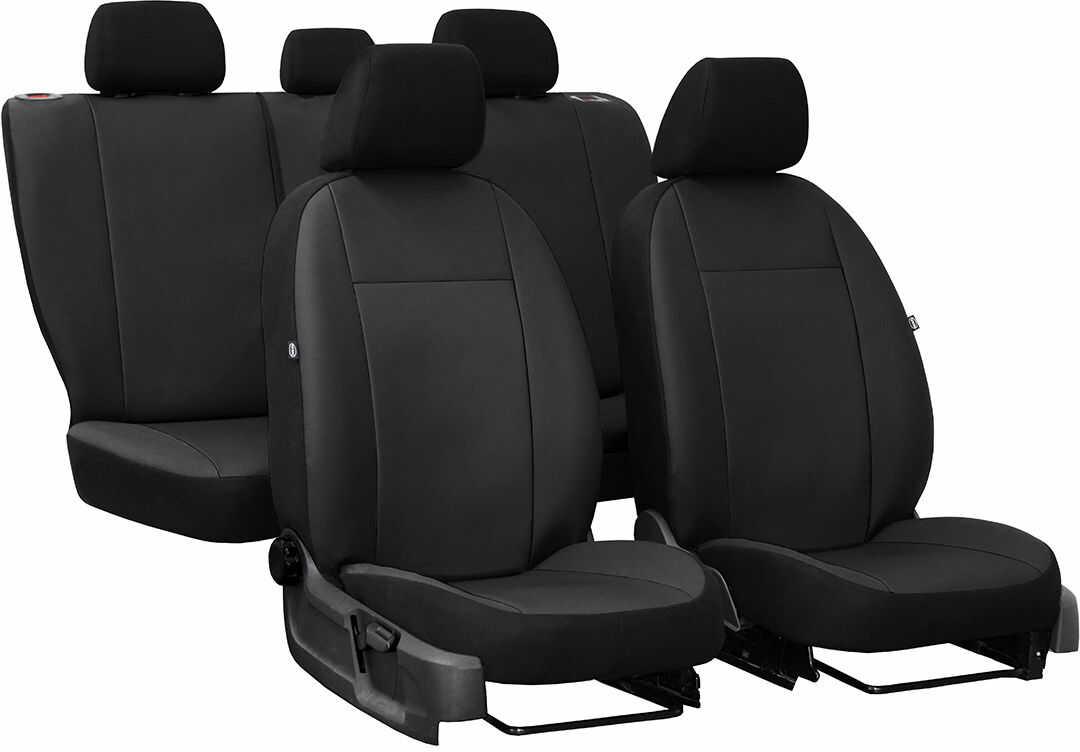 Pokrowce samochodowe do Ford Fusion van, Pelle, kolor czarny