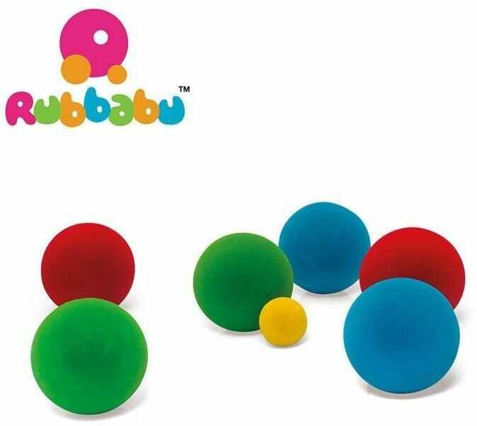Rubbabu zestaw do gry w bule sensoryczny