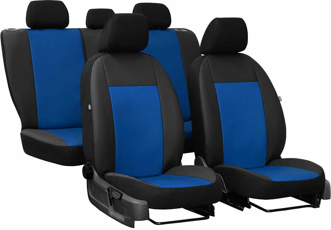 Pokrowce samochodowe do Ford Fusion van, Pelle, kolor niebieski