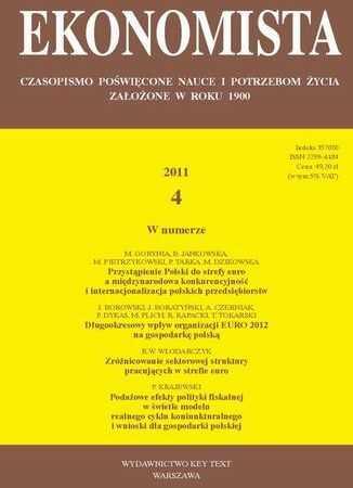 Ekonomista 2011 nr 4 - Ebook.
